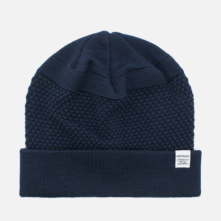 Шапка Norse Projects Bubble Beanie Navy