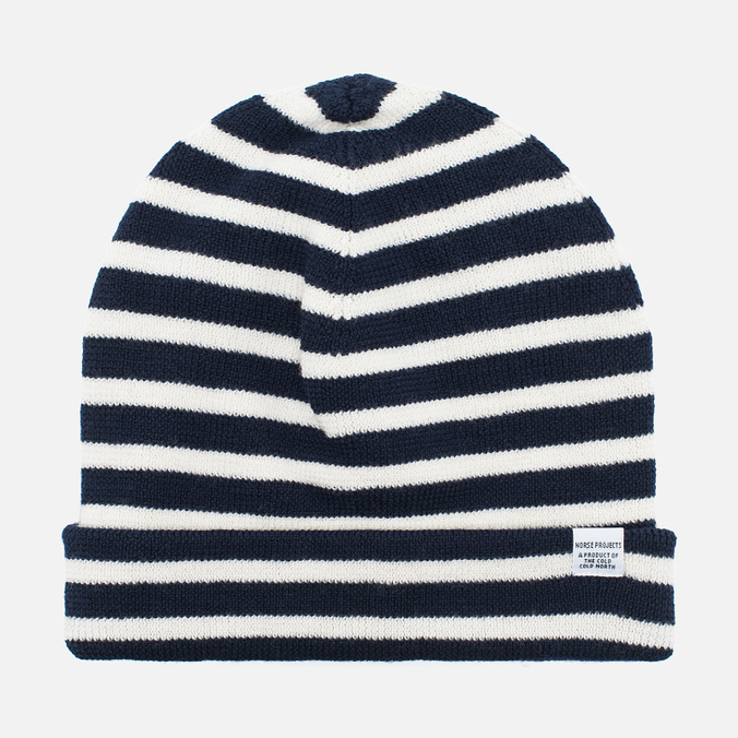 Шапка Norse Projects Classic Normandy Beanie Navy