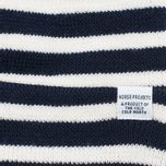 Norse Projects Classic Normandy Beanie Navy photo- 1