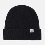 Мужская шапка Norse Projects Norse Beanie Charcoal Melange фото- 0