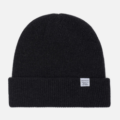 Шапка Norse Projects Norse Beanie Charcoal Melange