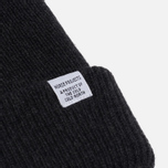 Мужская шапка Norse Projects Norse Beanie Charcoal Melange фото- 1