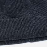 Norse Projects Norse Beanie Hat Charcoal Melange photo- 2