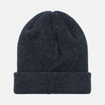 Мужская шапка Norse Projects Norse Beanie Charcoal Melange фото- 3