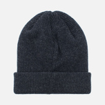 Norse Projects Norse Beanie Hat Charcoal Melange photo- 3