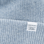 Norse Projects Norse Beanie Hat Colony Blue photo- 1