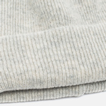 Norse Projects Norse Beanie Hat Light Grey Melange photo- 2