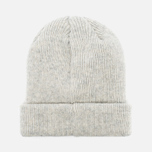 Мужская шапка Norse Projects Norse Beanie Light Grey Melange фото- 3