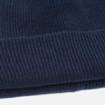 Мужская шапка Norse Projects Norse Beanie Navy фото- 2