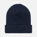 Мужская шапка Norse Projects Norse Beanie Navy фото- 3