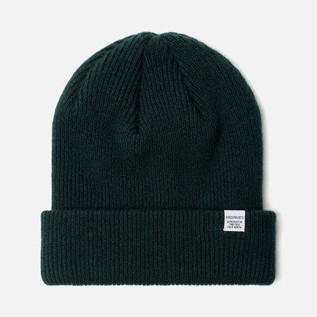 Шапка Norse Projects Norse Beanie Quartz Green