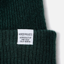Шапка Norse Projects Norse Beanie Quartz Green фото- 1