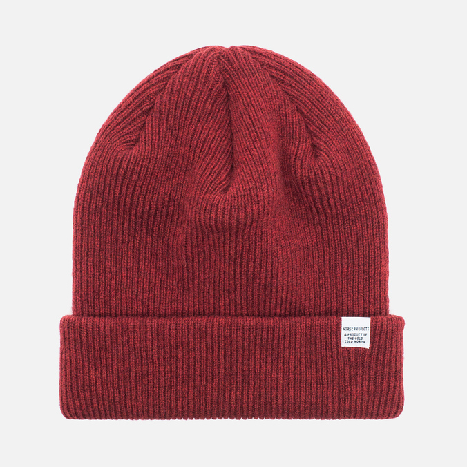 Шапка Norse Projects Norse Beanie Red Clay
