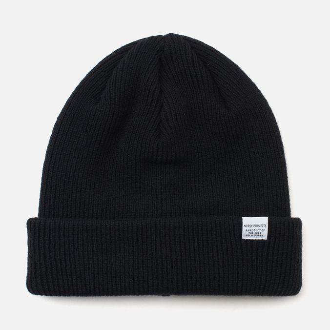 Norse Projects Norse Hat Black