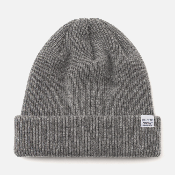 Шапка Norse Projects Norse Mouse Grey Melange