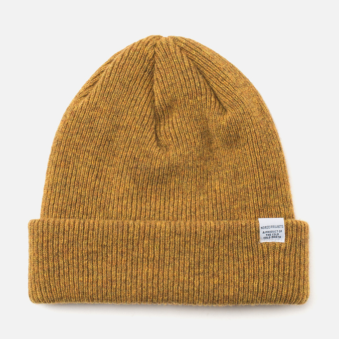 Norse Projects Norse Hat Mustard Yellow