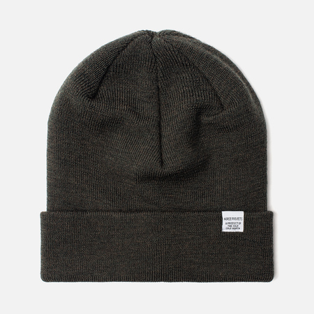Шапка Norse Projects Norse Top Beanie Beech Green
