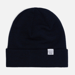 Шапка Norse Projects Norse Top Beanie Dark Navy