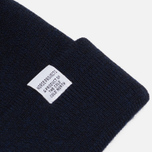 Шапка Norse Projects Norse Top Beanie Dark Navy фото- 1