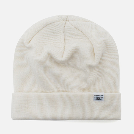 Шапка Norse Projects Norse Top Beanie Ecru