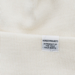 Шапка Norse Projects Norse Top Beanie Ecru фото- 1