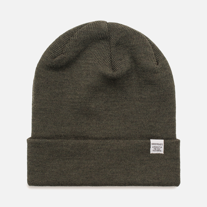 Мужская шапка Norse Projects Norse Top Beanie Lichen