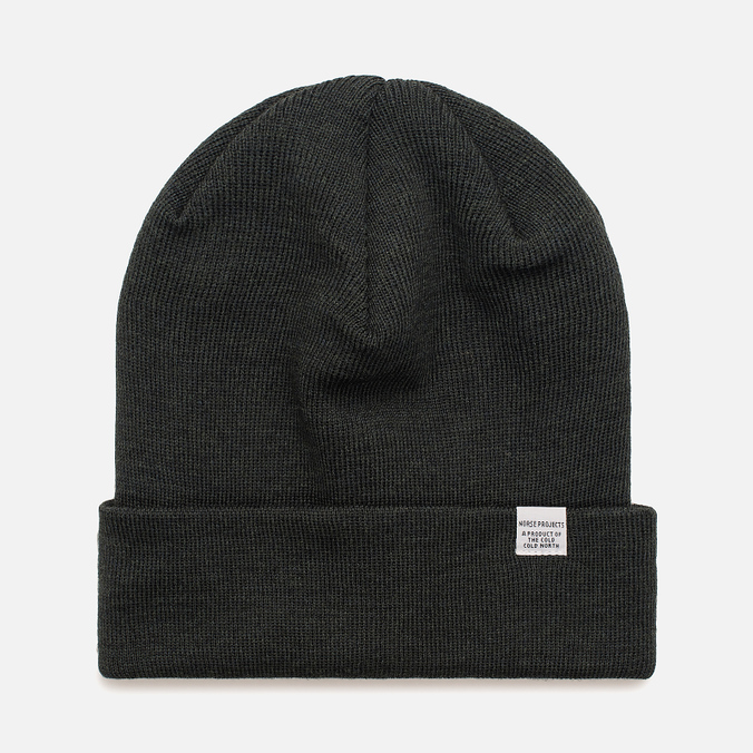 Шапка Norse Projects Norse Top Beanie Moss