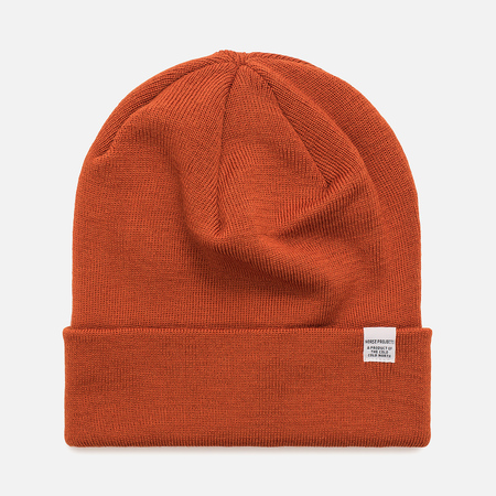 Мужская шапка Norse Projects Norse Top Beanie Ochre
