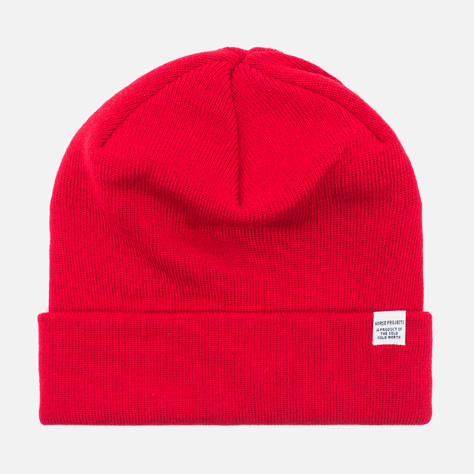 Шапка Norse Projects Norse Top Beanie Oxide Red