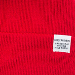 Шапка Norse Projects Norse Top Beanie Oxide Red фото- 1