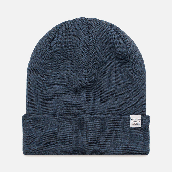 Шапка Norse Projects Norse Top Beanie Sodalite