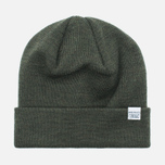 Шапка Norse Projects Norse Top Beanie Dried Olive фото- 0