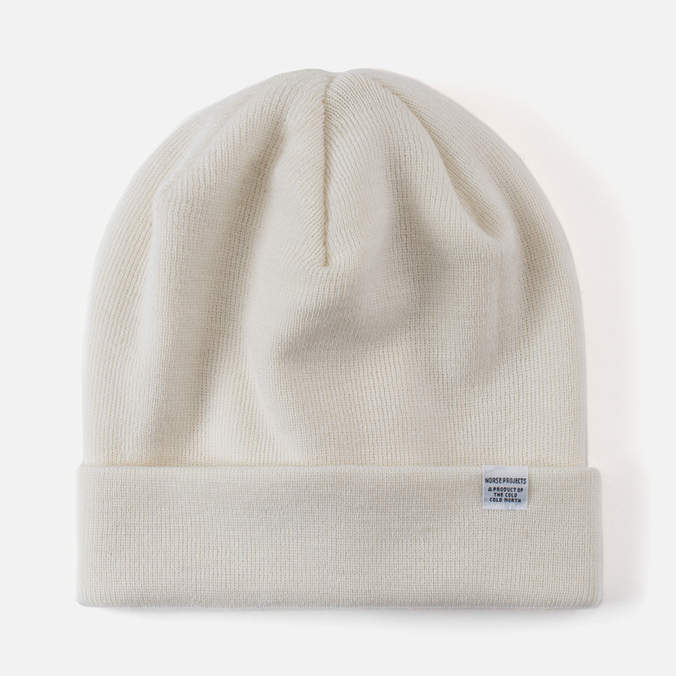 Шапка Norse Projects Norse Top Beanie White