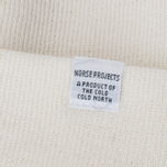 Шапка Norse Projects Norse Top Beanie White фото- 2
