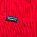 Шапка Patagonia Fishermans Rolled French Red фото- 2