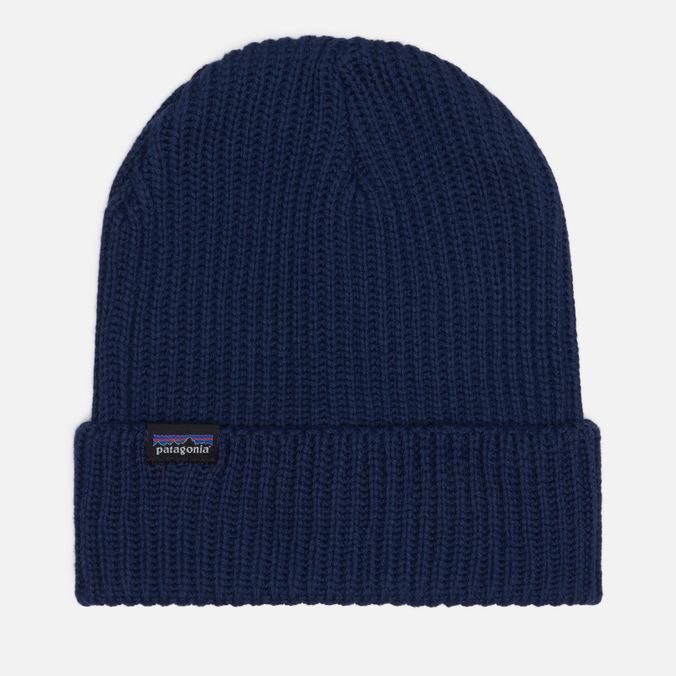 Шапка Patagonia Fishermans Rolled Navy Blue