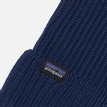 Шапка Patagonia Fishermans Rolled Navy Blue фото- 2