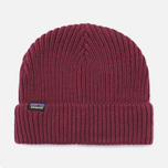 Шапка Patagonia Fishermans Rolled Oxblood Red фото- 0