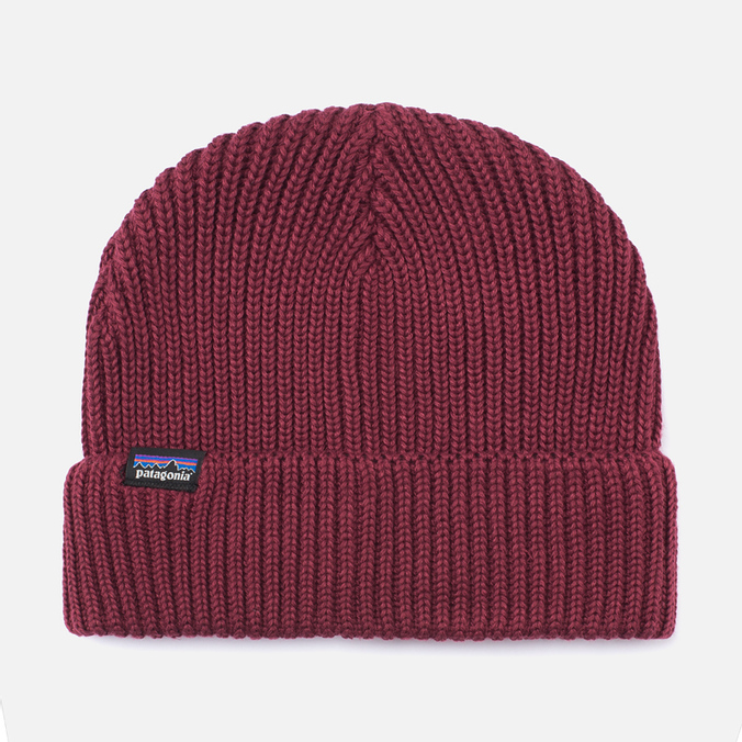 Шапка Patagonia Fishermans Rolled Oxblood Red