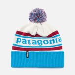 Шапка Patagonia Powder Town Park Stripe/Classic Red фото- 0