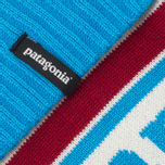 Шапка Patagonia Powder Town Park Stripe/Classic Red фото- 2