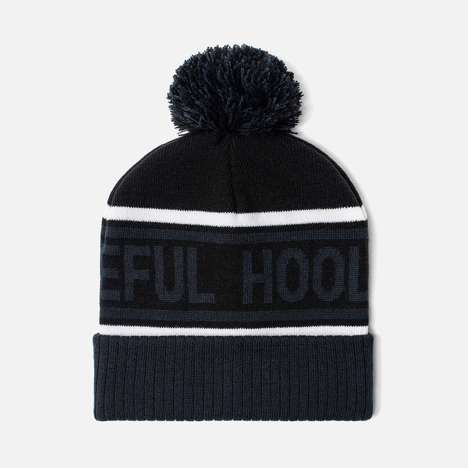 Шапка Peaceful Hooligan Signature Pompom Black