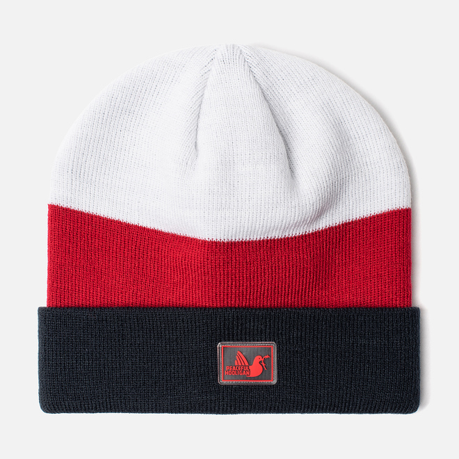 Шапка Peaceful Hooligan Stripe Navy/Red/White