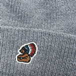 Penfield Poughkeepsie Bear Patch Beanie Hat Grey photo- 1