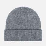 Penfield Poughkeepsie Bear Patch Beanie Hat Grey photo- 2
