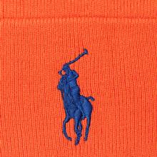 Шапка Polo Ralph Lauren Acrylic Big Polo Pony Neon Orange фото- 1