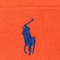 Шапка Polo Ralph Lauren Acrylic Big Polo Pony Neon Orange фото - 1