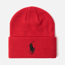 Шапка Polo Ralph Lauren Acrylic Big Polo Pony Red фото- 0