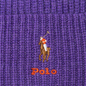Шапка Polo Ralph Lauren Embroidered Polo Pony Viscose Blend Bright Violet Heather фото - 1