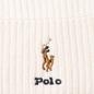 Шапка Polo Ralph Lauren Embroidered Polo Pony Viscose Blend Cream фото - 1